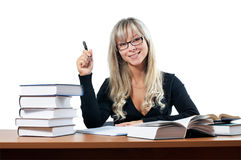 Young study female Stock Photography