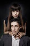 Young stylish couple Stock Photo