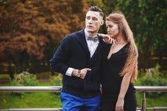 Young stylish couple Stock Image