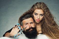 Young stylish couple Stock Images