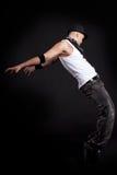 Young stylish dancer Stock Image