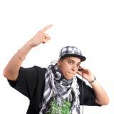 Young stylish DJ Stock Photos