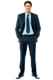 Young stylish smiling sales executive Royalty Free Stock Images
