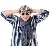 Yound handsome twister Royalty Free Stock Images