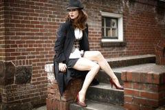 Young stylish woman stock image