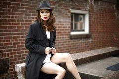 Young stylish woman Stock Photo