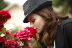 Young stylish woman Royalty Free Stock Image