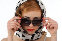Young stylish woman Royalty Free Stock Photo