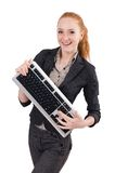 Young succesful office worker female Stock Photo