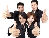 Young and success business team stock photo