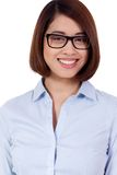 Young successful attractive asian businesswoman Royalty Free Stock Image