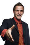 Young successful business man Royalty Free Stock Photo