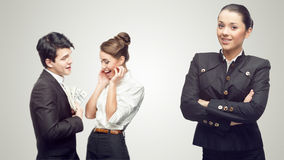 Young successful business people Royalty Free Stock Photo