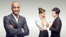 Young successful business people Stock Photography