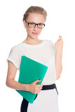 Young successful business woman Stock Photo