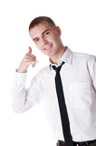 The young successful businessman stock photo