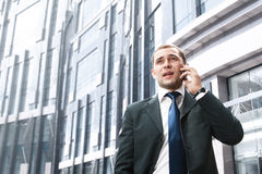 Young and successful businessman Royalty Free Stock Photography
