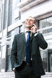 Young and successful businessman Stock Photos