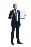 Young and successful businessman Stock Images