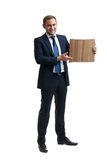 Young and successful businessman Stock Photography