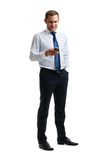 Young and successful businessman Royalty Free Stock Images