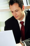 Young successful businessman Stock Images