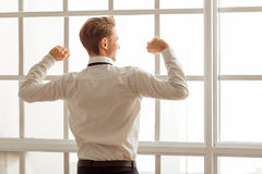Young successful businessman Royalty Free Stock Photography