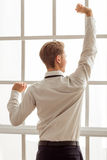 Young successful businessman Stock Photography