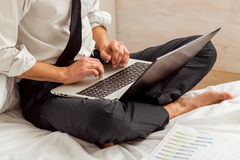 Young successful businessman Royalty Free Stock Photo