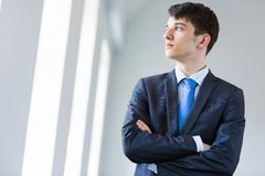 Young successful businessman Stock Image