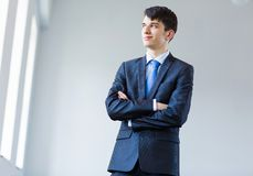 Young successful businessman Royalty Free Stock Image
