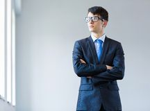 Young successful businessman Royalty Free Stock Images