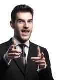 Successeful businessman Royalty Free Stock Photos