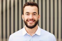 Young successful businessman stock photos