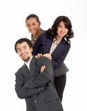 Young Successful Businessteam Stock Image