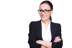 Young and successful businesswoman. Stock Images