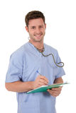 Young successful caucasian doctor Royalty Free Stock Photo