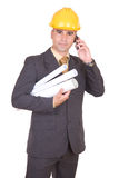 Young successful engineer Royalty Free Stock Photos