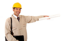 Young successful Nepalese engineer Stock Images
