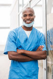Young and successful surgeon. Stock Images