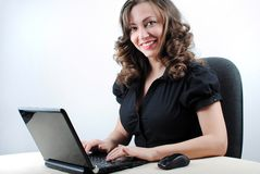 Young successful woman Stock Images