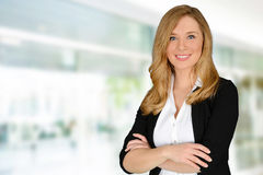 Young successful woman Stock Image