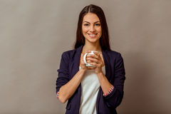 Young successful woman Stock Photography