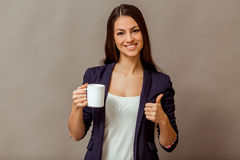 Young successful woman Stock Photos