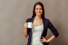 Young successful woman Royalty Free Stock Photography