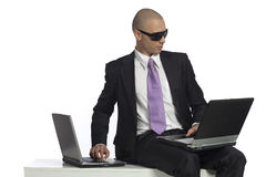 Young successfull businessman Stock Photos