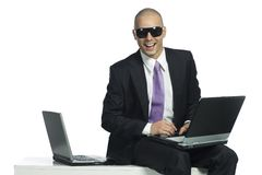 Young successfull businessman Royalty Free Stock Photos