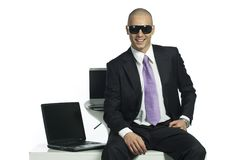 Young successfull man Royalty Free Stock Photo
