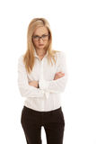 Young succsessfull business woman Royalty Free Stock Image