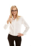 Young succsessfull business woman Royalty Free Stock Photography